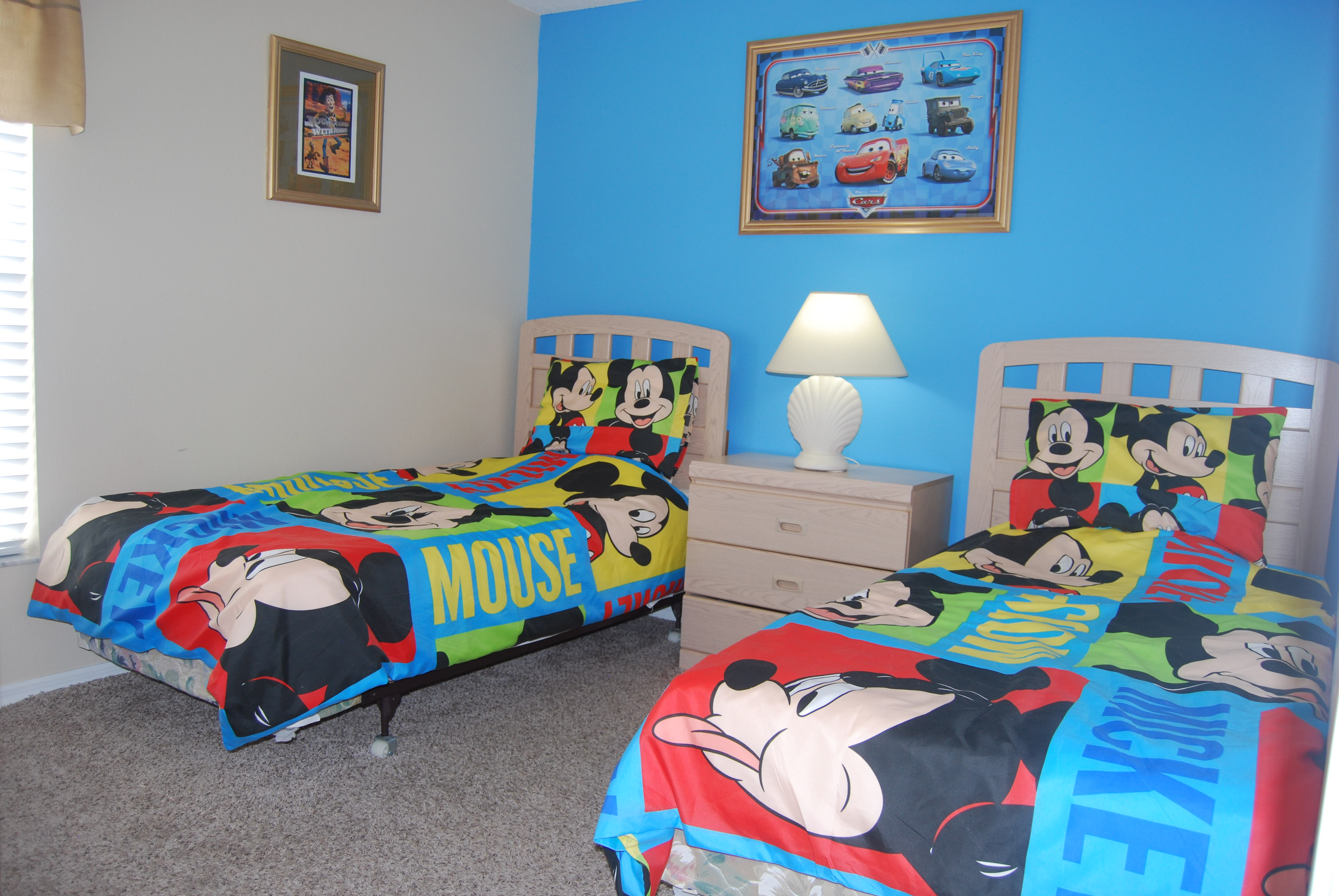 Mickey and MinnieTWIN BEDROOM